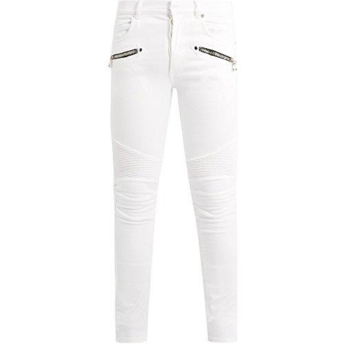 (バルマン) Balmain メンズ ボトムス・パンツ ジーンズ・デニム Mid-rise skinny biker jeans [並行輸入品]