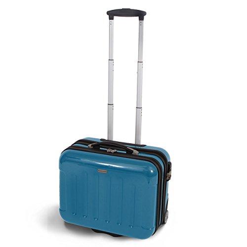 (グラディス・トラベル)GladysTravel ビジネスキャリーバッグ ABS+PC樹脂製 Wジッパータイプ EBC-06 ダークブルー