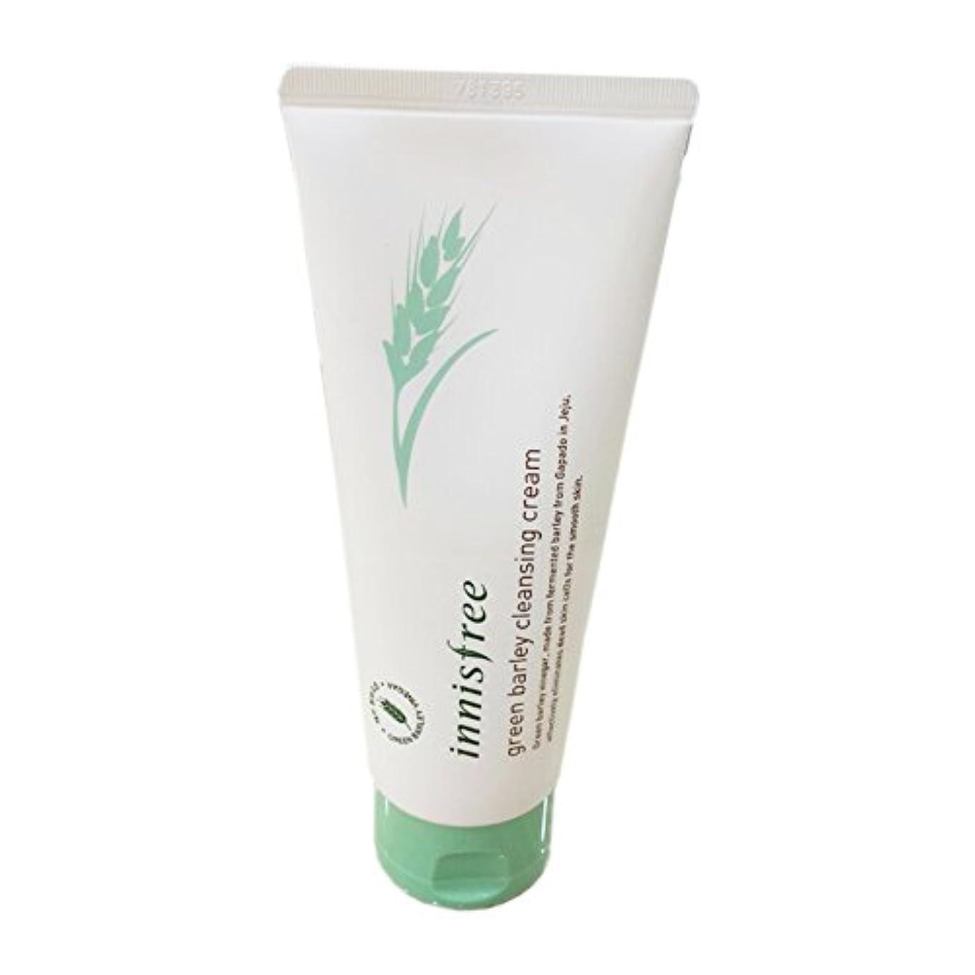 見捨てられた暫定構想する[イニスフリー] Innisfree 青麦クレンジングクリーム (150ml) Innisfree Green Barley Cleansing Cream (150ml) [海外直送品]