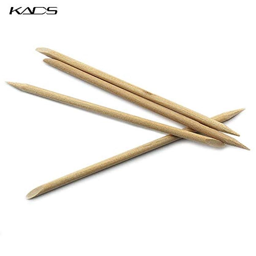 ピクニックチート特別にKADS 最高品質オレンジウッドスティック ジェルネイル用 5本入り(ウッド棒 検定)