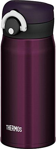 サーモス 水筒 真空断熱ケータイマグ 【ワンタッチオープンタイプ】 0.35L ミッドナイトブラック JNR-350 M-BK