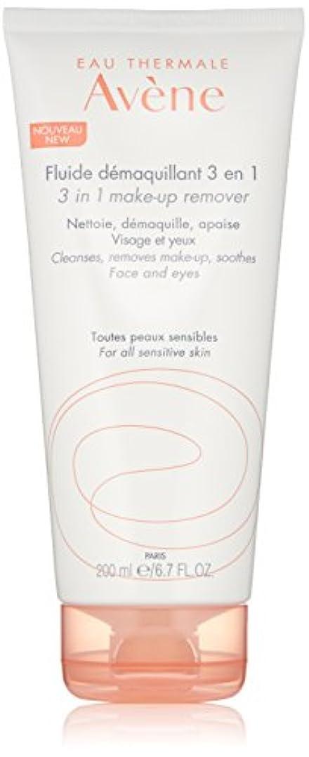 バーガー旅客自明アベンヌ 3 In 1 Make-Up Remover (Face & Eyes) - For All Sensitive Skin 200ml/6.7oz並行輸入品