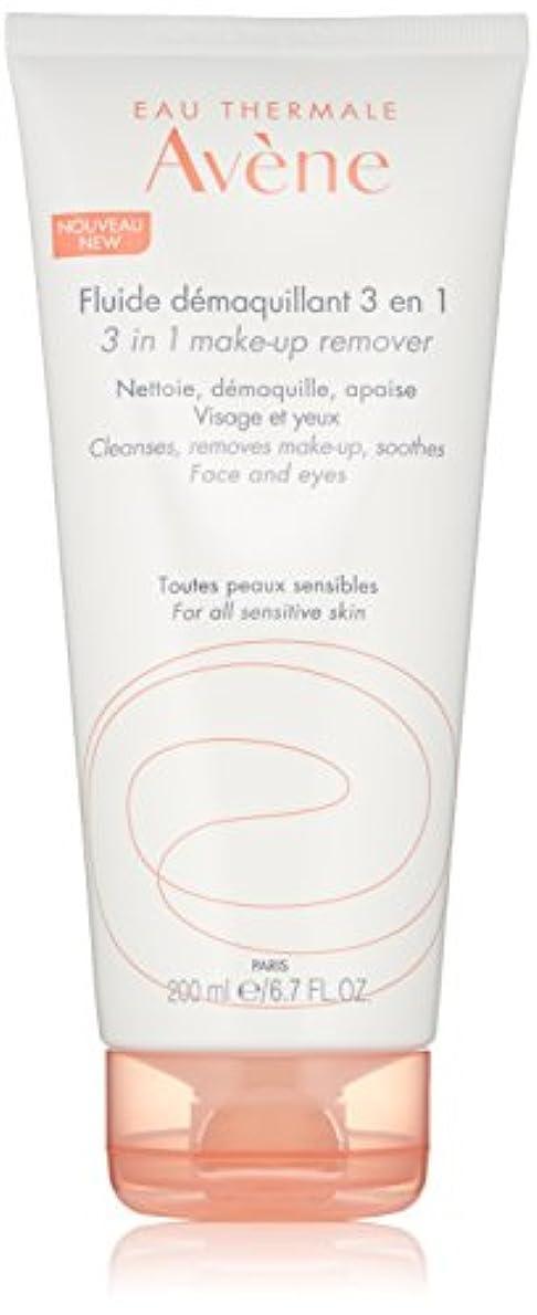 目の前の眠いです怖がって死ぬアベンヌ 3 In 1 Make-Up Remover (Face & Eyes) - For All Sensitive Skin 200ml/6.7oz並行輸入品