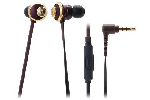 オーディオテクニカ ATH-CKF77iS BW スマートフォン用インナーイヤーヘッドホン