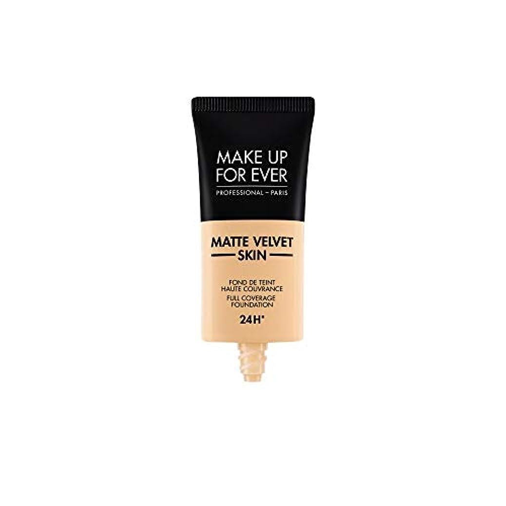 ダース本当のことを言うとグローバルメイクアップフォーエバー Matte Velvet Skin Full Coverage Foundation - # Y235 (Ivory Beige) 30ml/1oz並行輸入品