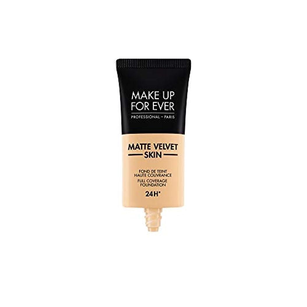 シダ大午後メイクアップフォーエバー Matte Velvet Skin Full Coverage Foundation - # Y235 (Ivory Beige) 30ml/1oz並行輸入品