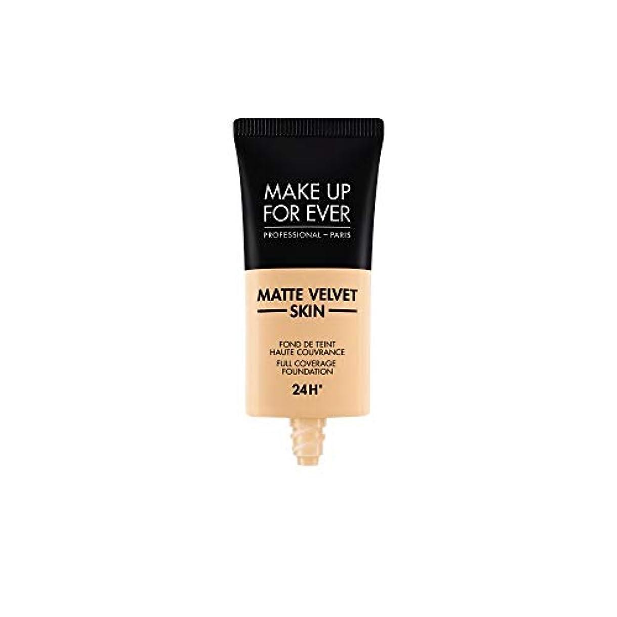 路地クランプ砲兵メイクアップフォーエバー Matte Velvet Skin Full Coverage Foundation - # Y235 (Ivory Beige) 30ml/1oz並行輸入品