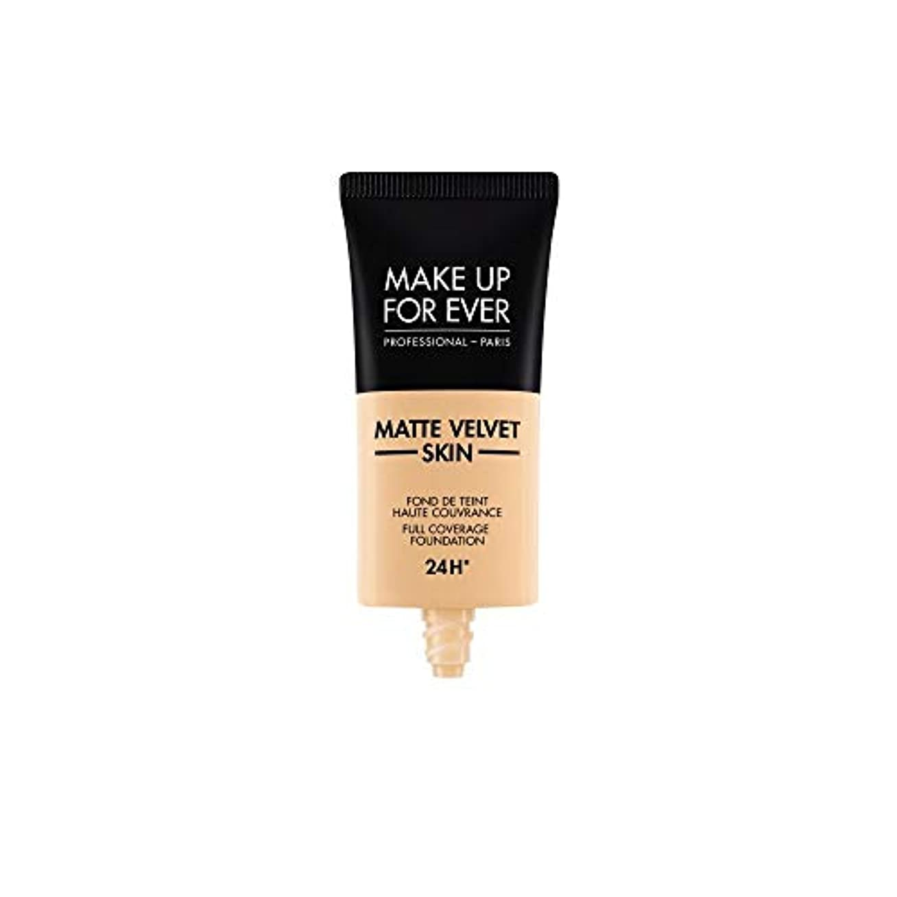 メイクアップフォーエバー Matte Velvet Skin Full Coverage Foundation - # Y235 (Ivory Beige) 30ml/1oz並行輸入品