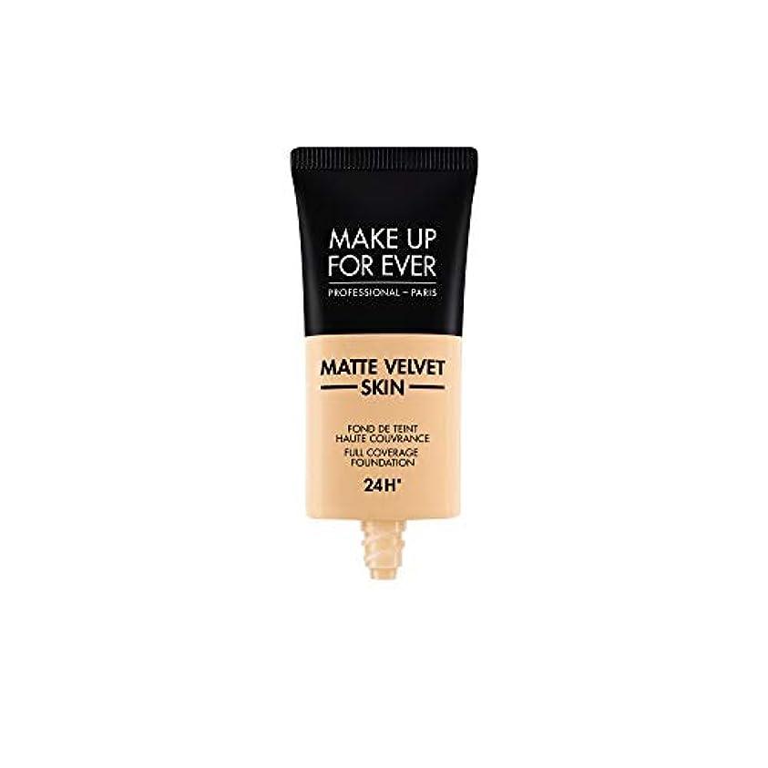 メイクアップフォーエバー Matte Velvet Skin Full Coverage Foundation - # Y235 (Ivory Beige) 30ml/1oz並行輸入品