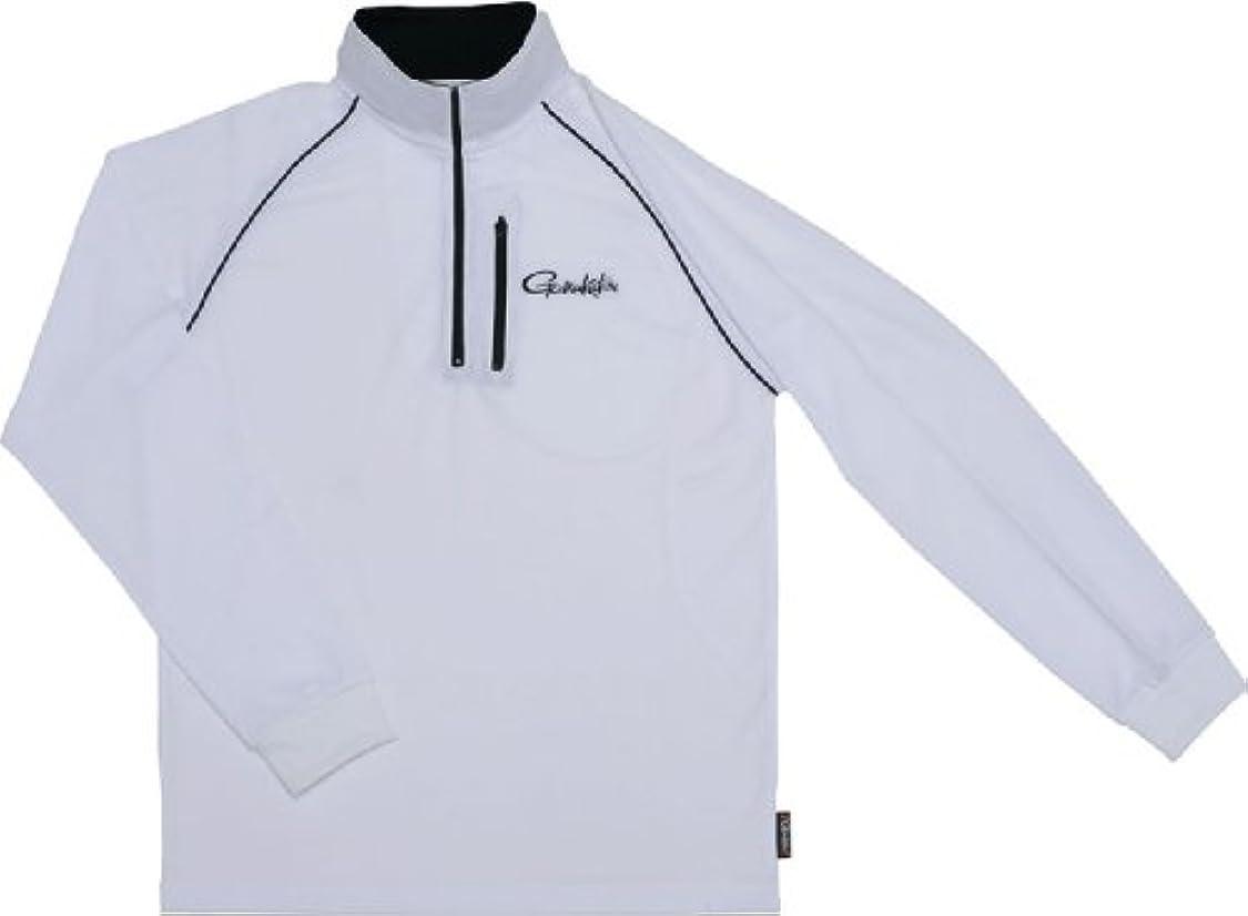 彼らは学校の先生爆発するがまかつ(Gamakatsu) シャツ クールマックスジップ M ホワイト GM3385