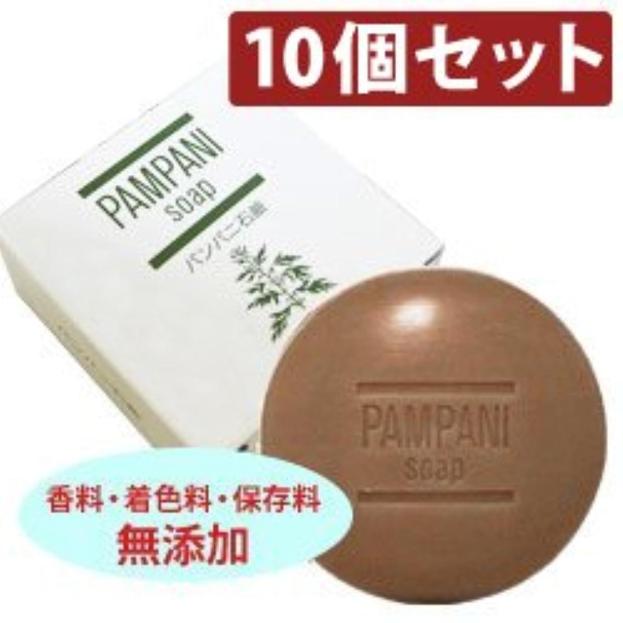 パンパニ 石鹸?90g 【10個セット】