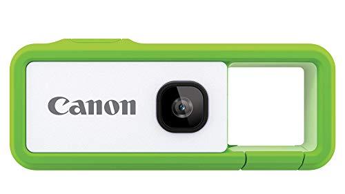 Canon キヤノン Camera iNSPiC REC GREEN グリーン 小型 防水 耐久 身につけるカメラ FV-100 Green