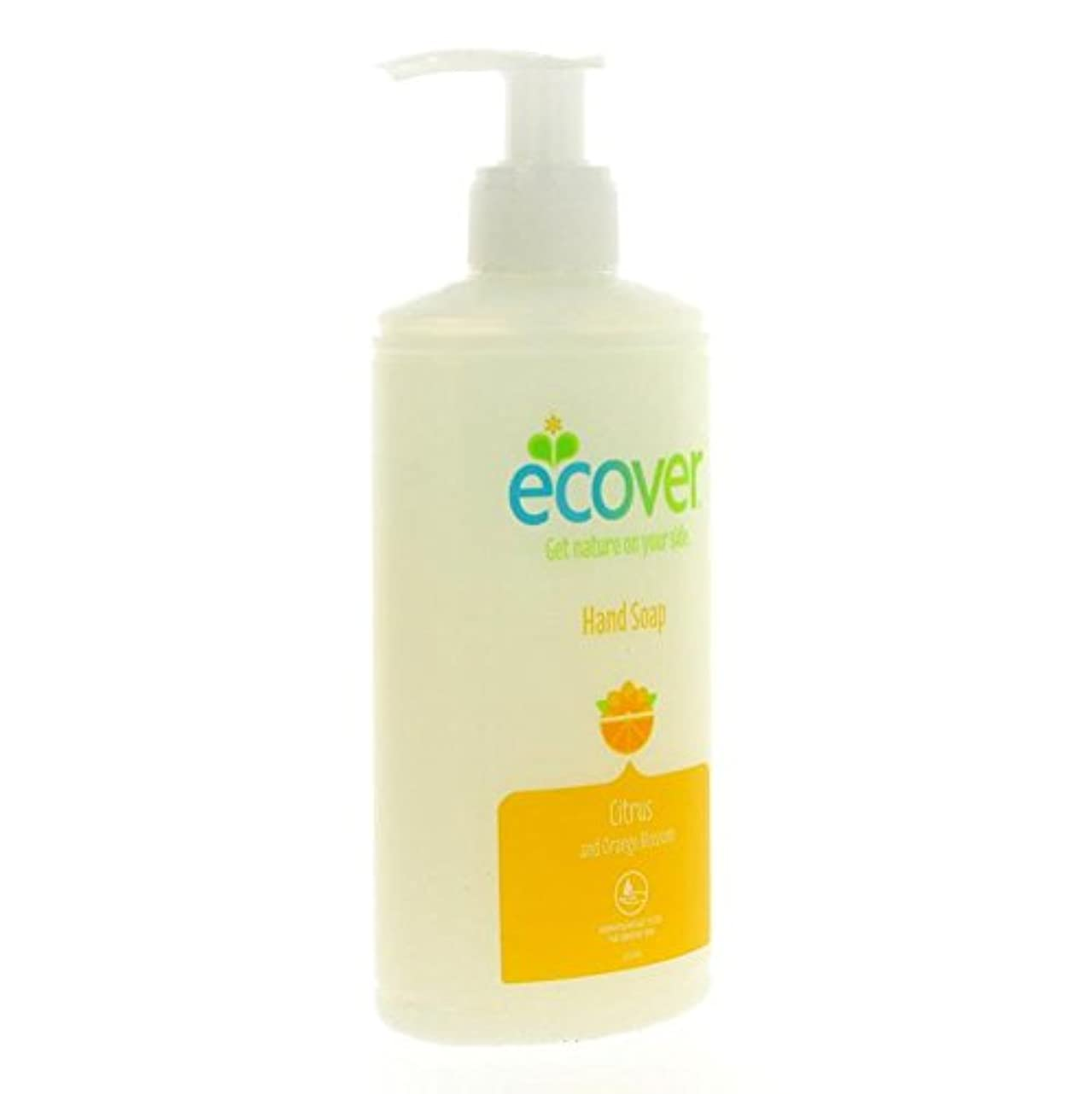 登録するとんでもない魅惑的なEcover - Hand Soap - Citrus and Orange Blossom - 250ml (Case of 6)