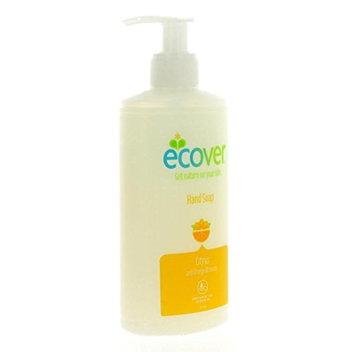 水差し輸血取り消すEcover - Hand Soap - Citrus and Orange Blossom - 250ml (Case of 6)
