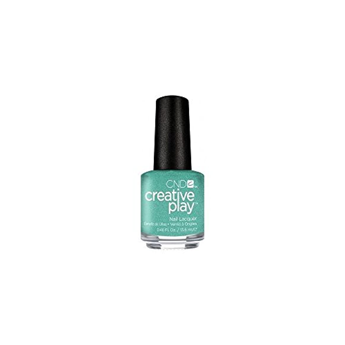 ステープル代名詞おびえたCND Creative Play Lacquer - My Mo-Mint - 0.46oz / 13.6ml