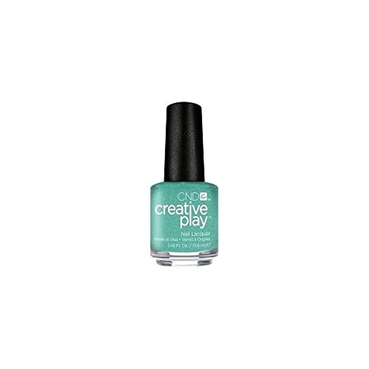 吹きさらし合併症目的CND Creative Play Lacquer - My Mo-Mint - 0.46oz / 13.6ml