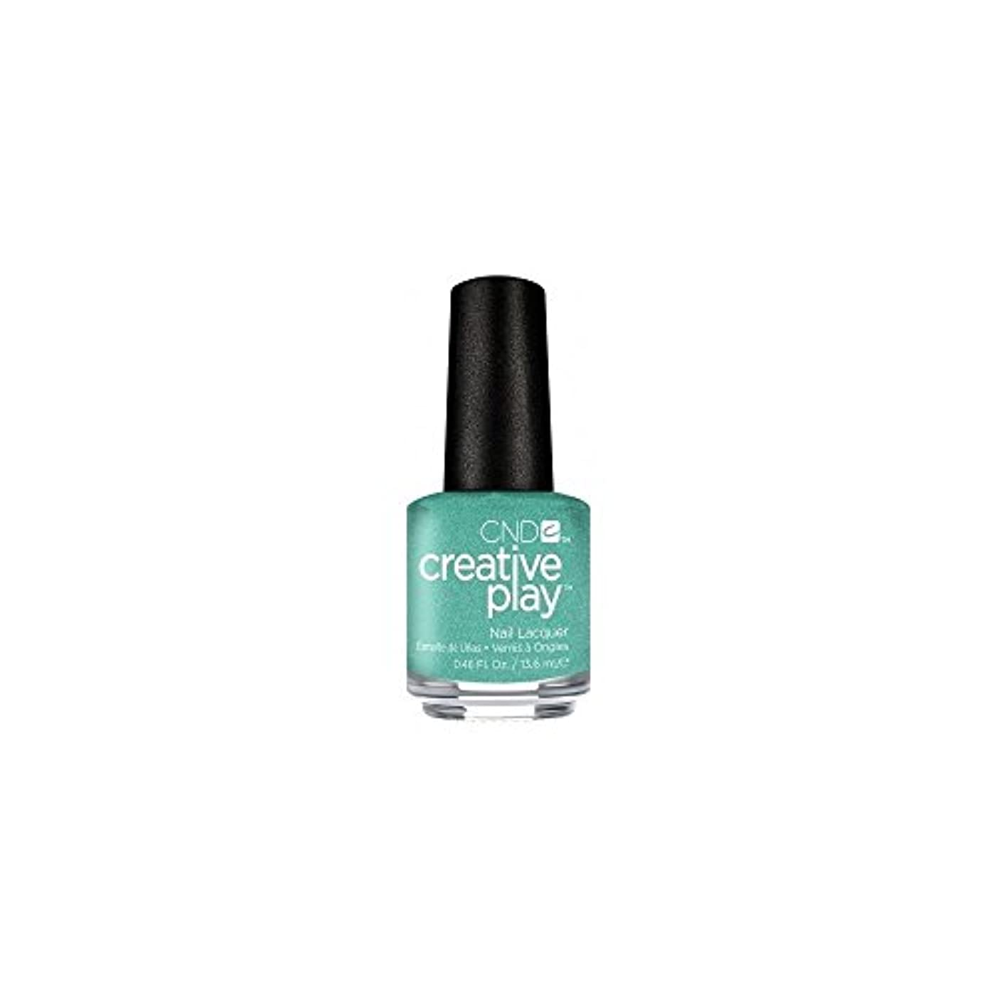 加速度知覚ユーモアCND Creative Play Lacquer - My Mo-Mint - 0.46oz / 13.6ml