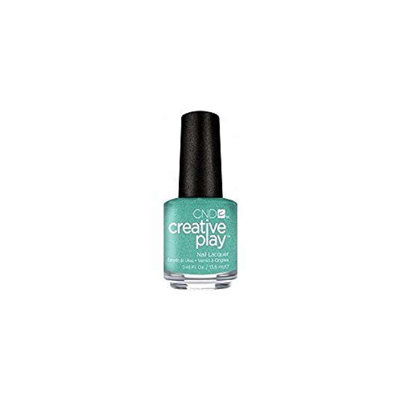 世論調査怠暴徒CND Creative Play Lacquer - My Mo-Mint - 0.46oz / 13.6ml