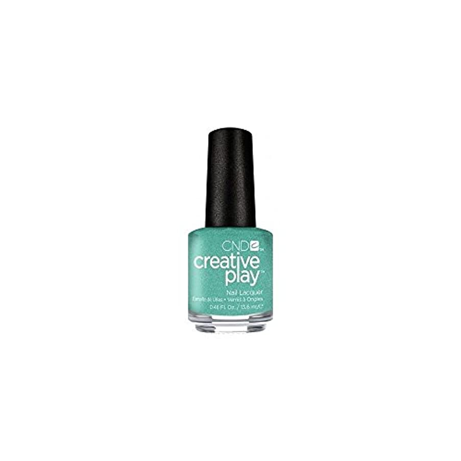 忌まわしいやめる発見CND Creative Play Lacquer - My Mo-Mint - 0.46oz / 13.6ml