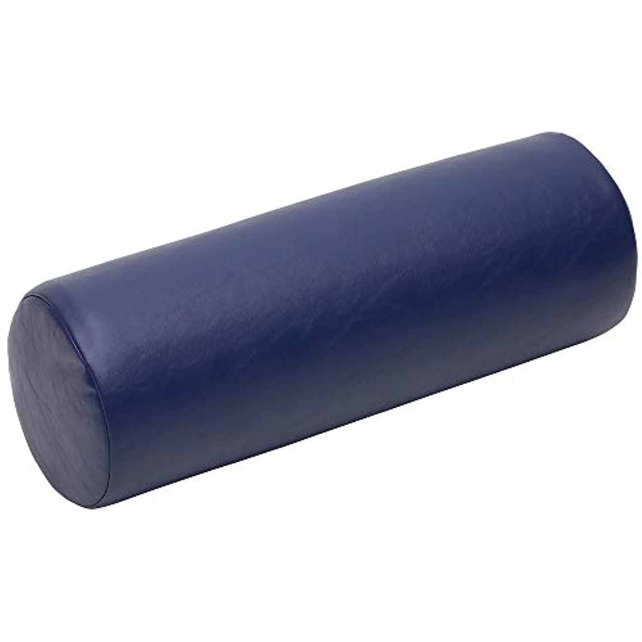 無限大混合ビデオLLOYD (ロイド) ダッチマンロール 【円柱型】 マッサージ クッション 椎間板 の 施術 足首 の支え 側臥位 の際の 枕 にも最適 (ネイビー)