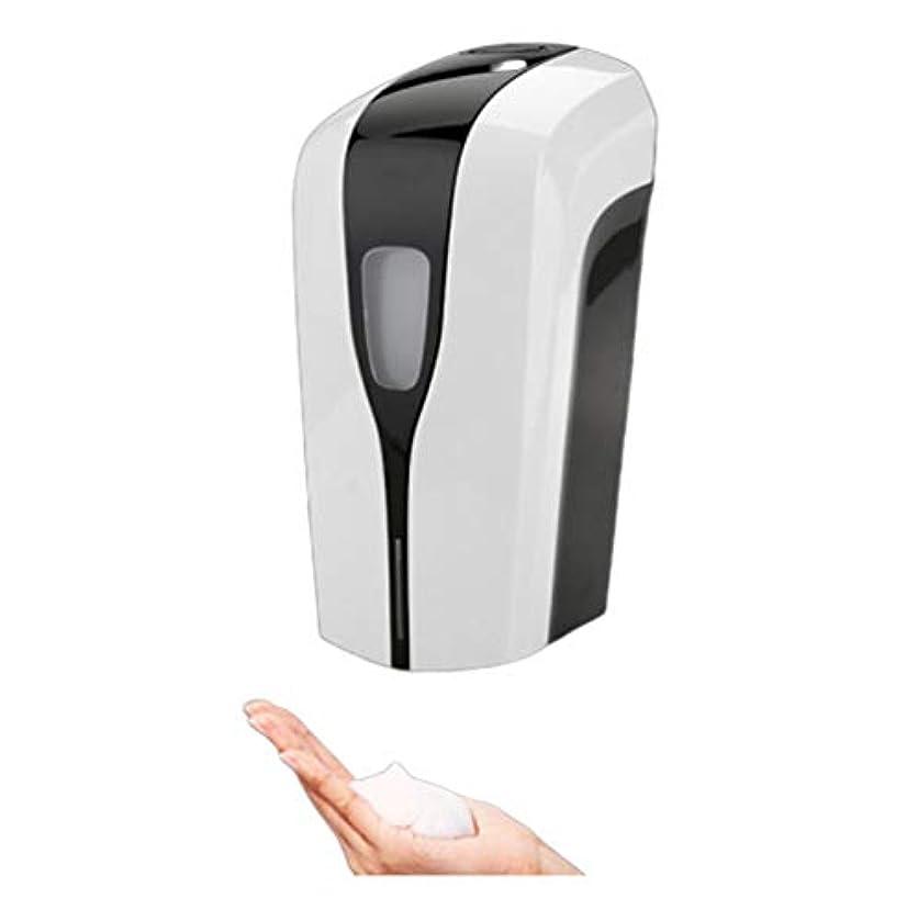 セール平手打ち差別する壁に取り付けられた自動石鹸ディスペンサーの白、浴室の石鹸ディスペンサーの接触のない赤外線動きセンサー手の石鹸ディスペンサーの台所洗面所のためのスマートな泡立つ石鹸ディスペンサー