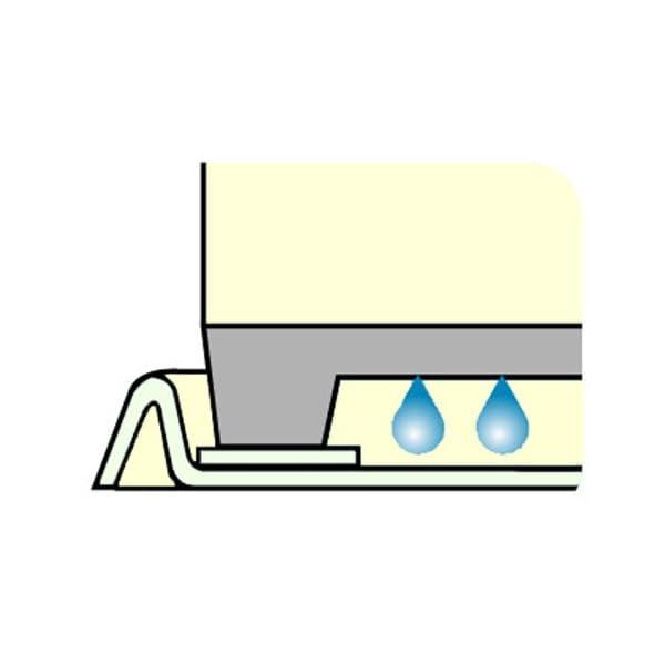 洗濯機トレイ 二槽式用(アイボリー)の紹介画像4