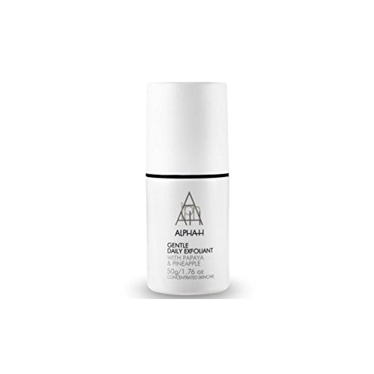 指標自宅でドアミラーアルファ - 時間穏やか毎日の角質(50グラム) x4 - Alpha-H Gentle Daily Exfoliant (50G) (Pack of 4) [並行輸入品]