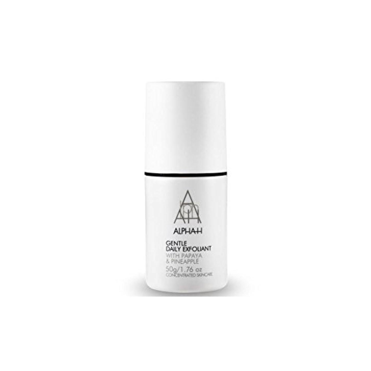 証明リンス最適Alpha-H Gentle Daily Exfoliant (50G) (Pack of 6) - アルファ - 時間穏やか毎日の角質(50グラム) x6 [並行輸入品]