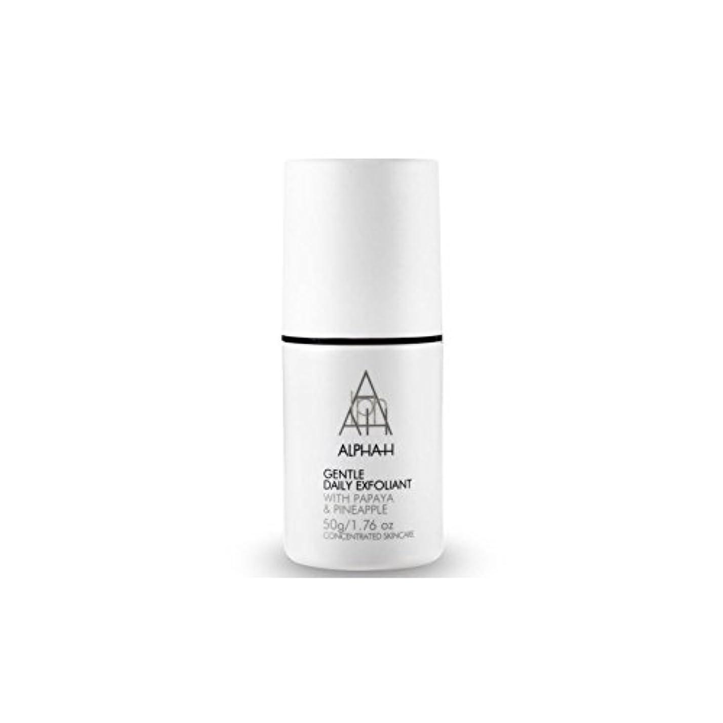 アルファ - 時間穏やか毎日の角質(50グラム) x4 - Alpha-H Gentle Daily Exfoliant (50G) (Pack of 4) [並行輸入品]