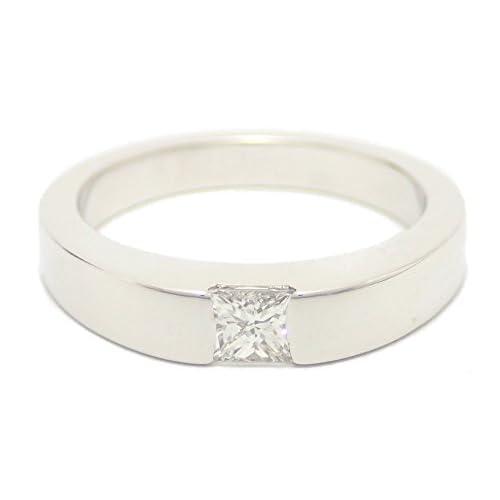 [カルティエ] Cartier ソリテール タンク ダイヤ リング 指輪 K18WG 750WG ホワイトゴールド #50 [中古]
