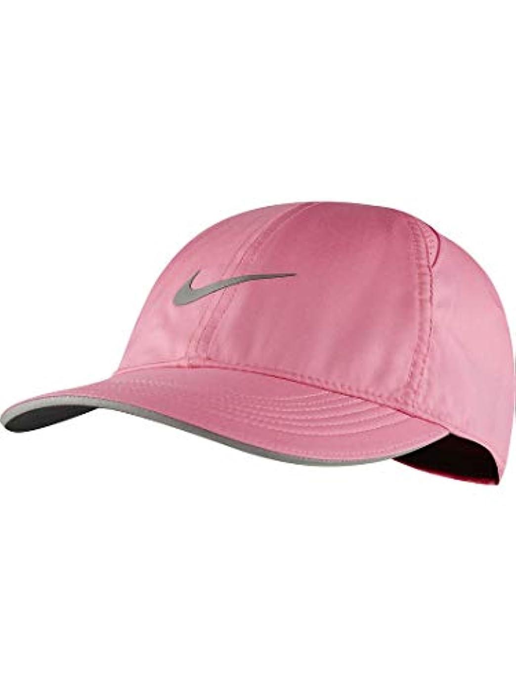 晴れビルダーレンドナイキ ランニング キャップ ナイキ ウィメンズ フェザーライト ラン キャップ AR2028-607 ピンク レディース 帽子 ぼうし PINK FA20 (PINK GLOW, F)