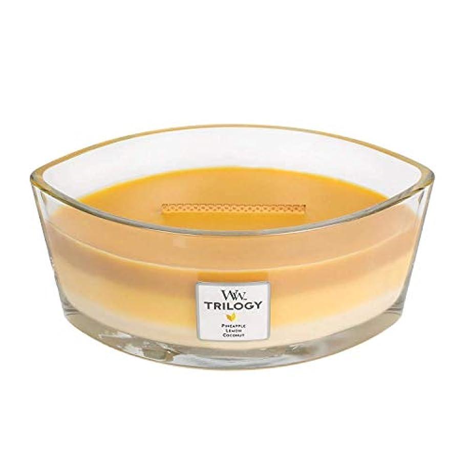 くそー生産的首尾一貫したYankee Candle Trilogy – 夏のフルーツパイナップル、レモン、Coconut