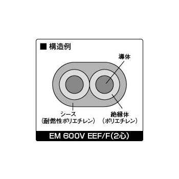 Amazon   昭和電線 EM 600V EEF/...