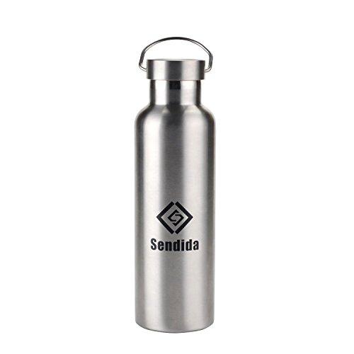 Sendida 500ml スポーツボトル ステンレス鋼 水筒 保温 2重 真空断熱 ダブルステンレスボトル