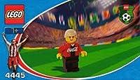 LEGO 4445 Coca-Cola Middle Fielder 1 レゴ サッカー コカコーラ ミッドフィルダー 1