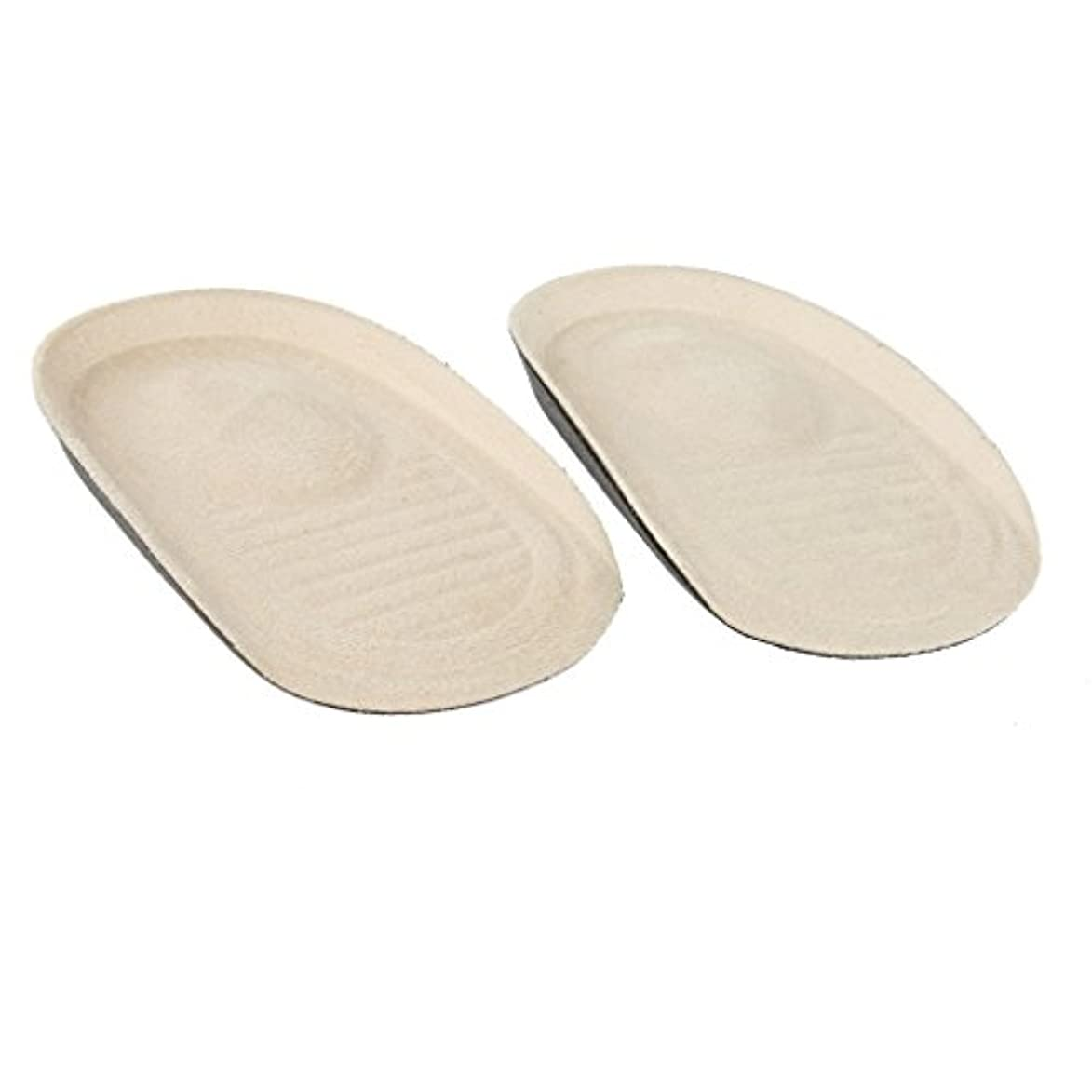 偏心経由でなめらかなアンチスリップヒールクッションは、インソールブーツ?靴インサートパッドスポンジ
