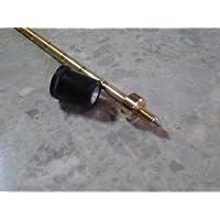 コントラバスエンドピン≪カルテット≫パワーがあるのに軽やで弾きやすい。径10ミリ