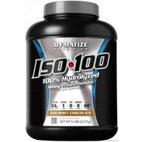 Dymatize ダイマタイズ ISO-100 加水分解 ホエイアイソレートプロテイン 2.27kg [海外直送品] (グルメチョコレート)