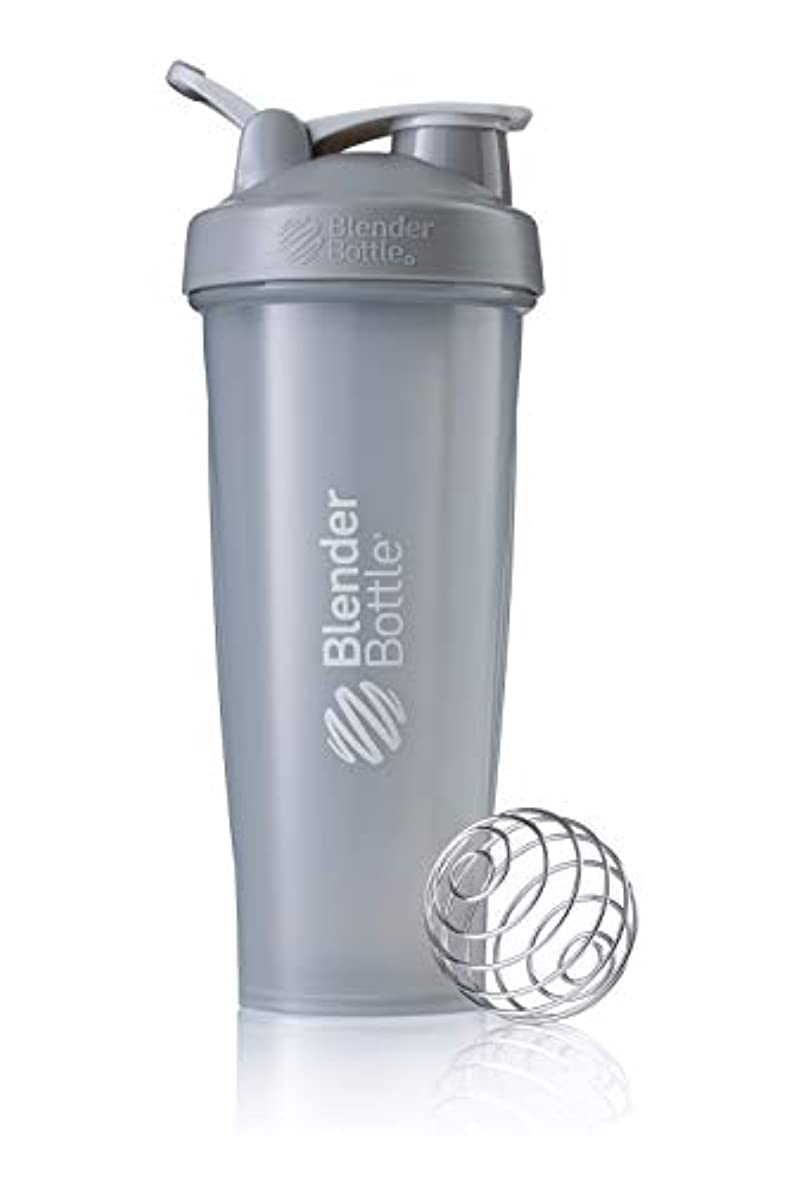 無人スカート配偶者BlenderBottle Classic ブレンダーボトル クラシック Shaker Bottle 32-Ounce Loop Top PEBBLE GREY CLSC32LOOP