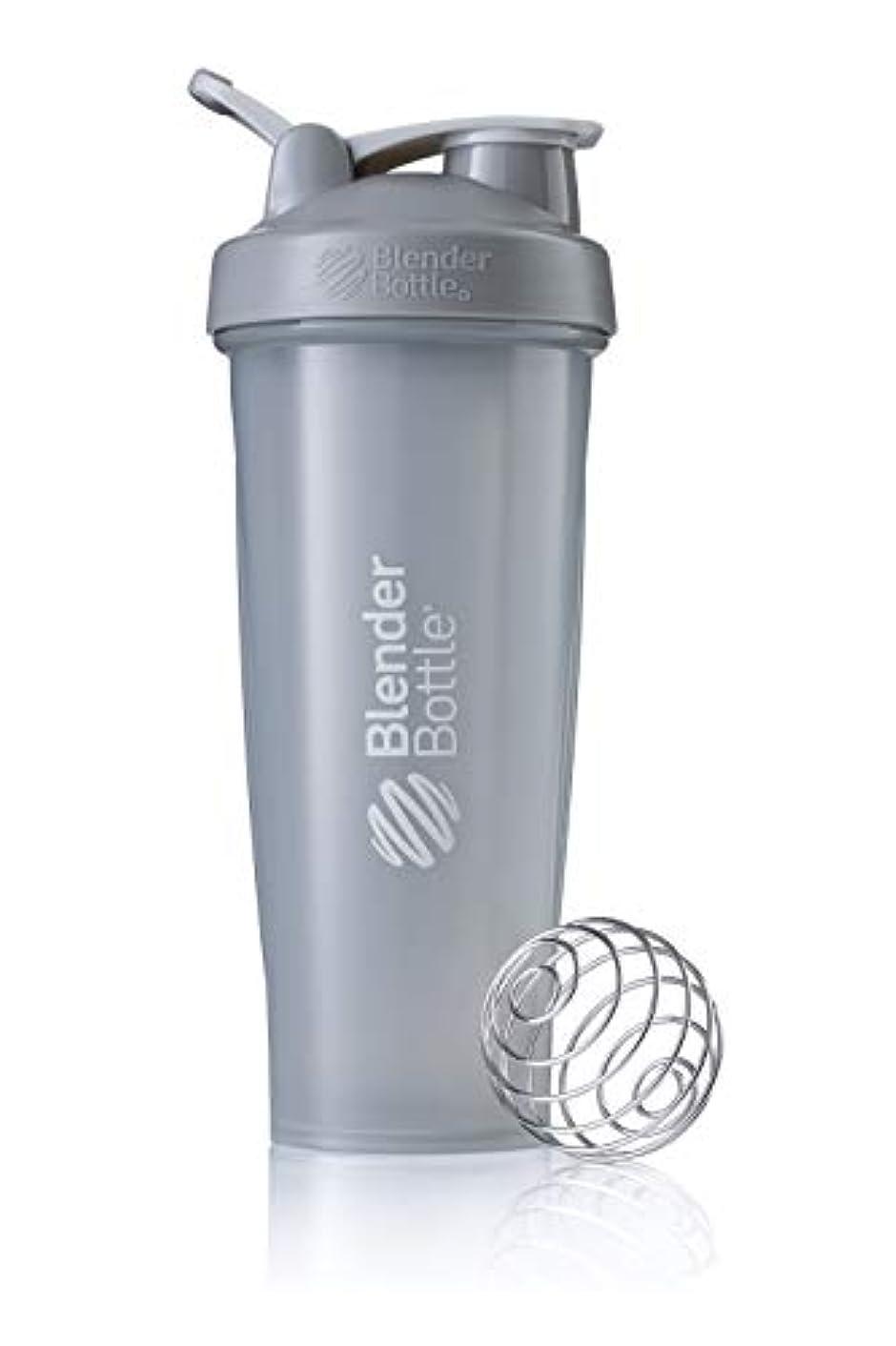 許可するバトル圧倒するBlenderBottle Classic ブレンダーボトル クラシック Shaker Bottle 32-Ounce Loop Top PEBBLE GREY CLSC32LOOP