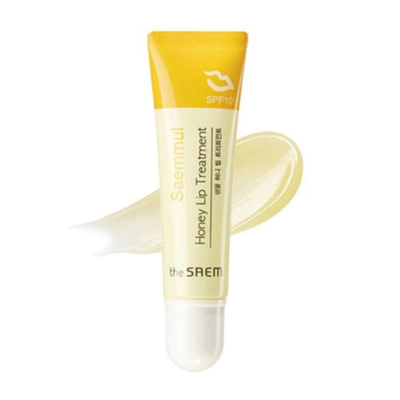 三番暗唱するサイドボードthe SAEM ザセム セムムル ハニー リップ トリートメント Saemmul Honey Lip Treatment 10ml 韓国コスメ