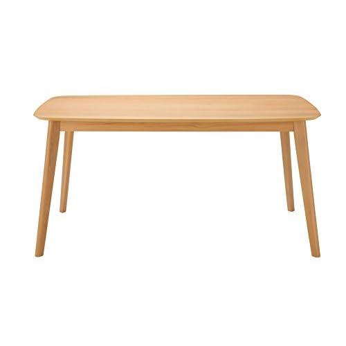 あずま工芸 ダイニングテーブル プレイン 150cm幅 TDT-1126