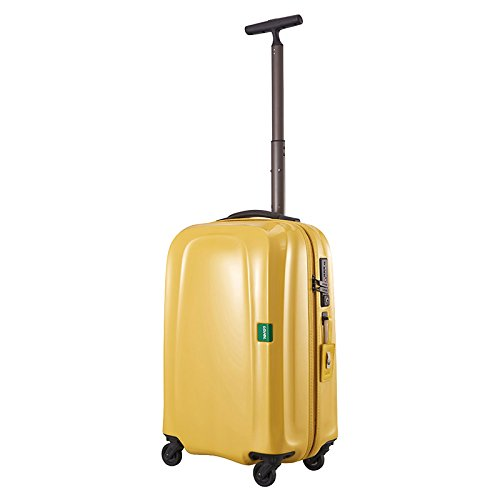 LOJEL ロジェール | LUMO-S ハードキャリー【50cm】 | 機内持ち込みスーツケース マスタード (旅行用品)