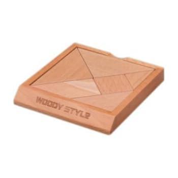 木製知恵の板タングラム
