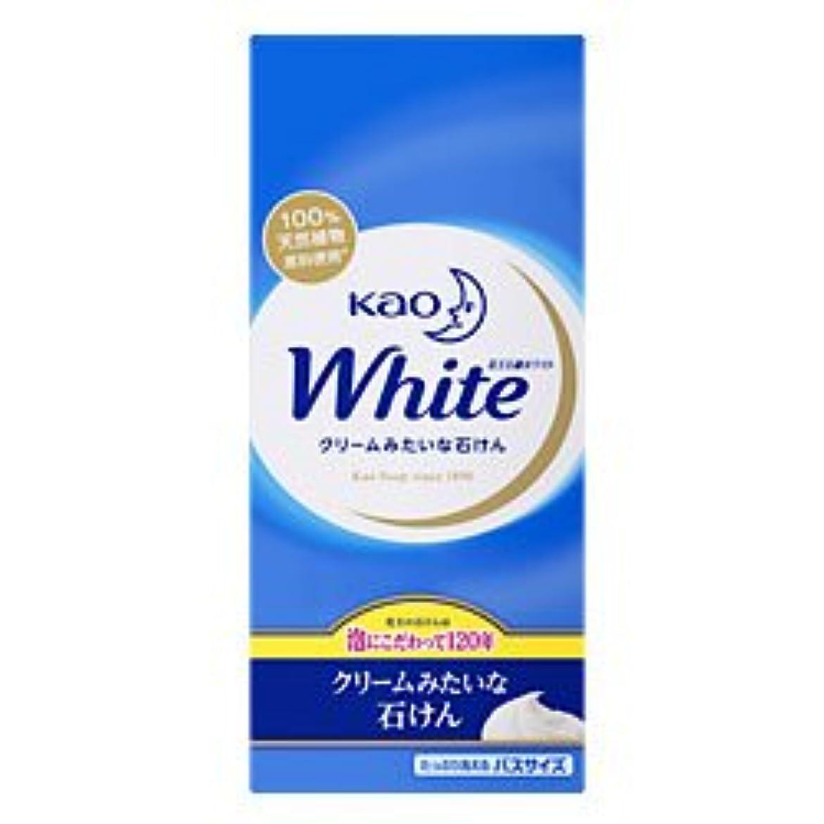 もっとボトルネック段階【花王】花王ホワイト バスサイズ 130g×6個 ×10個セット