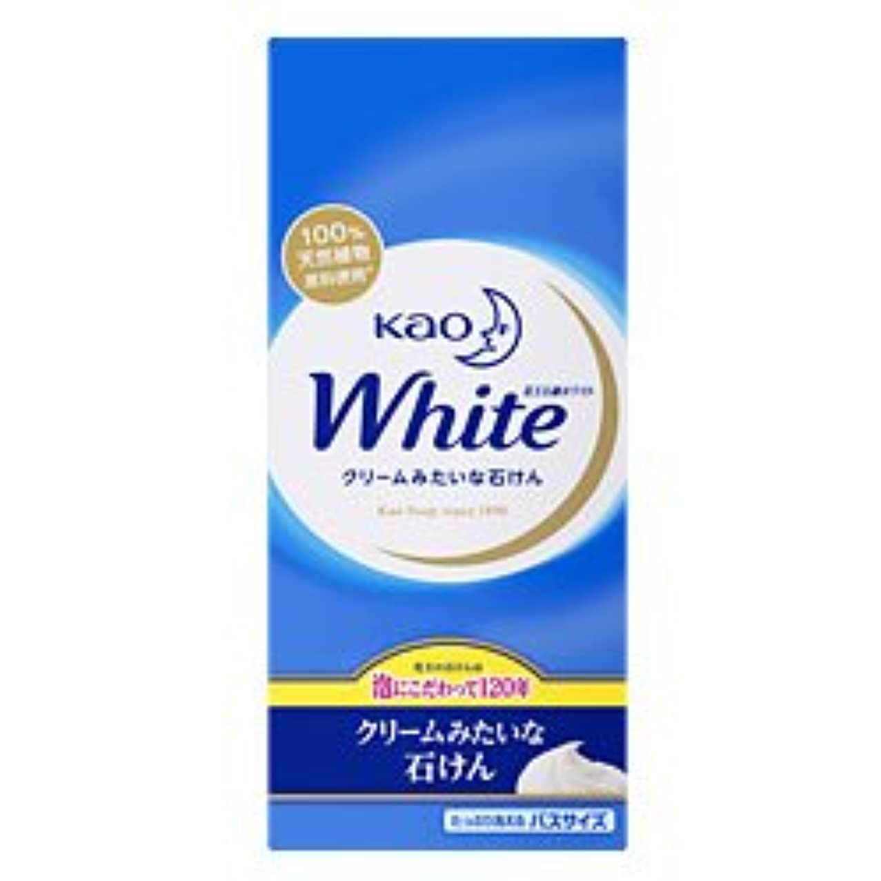 あご合理的社会【花王】花王ホワイト バスサイズ 130g×6個 ×20個セット