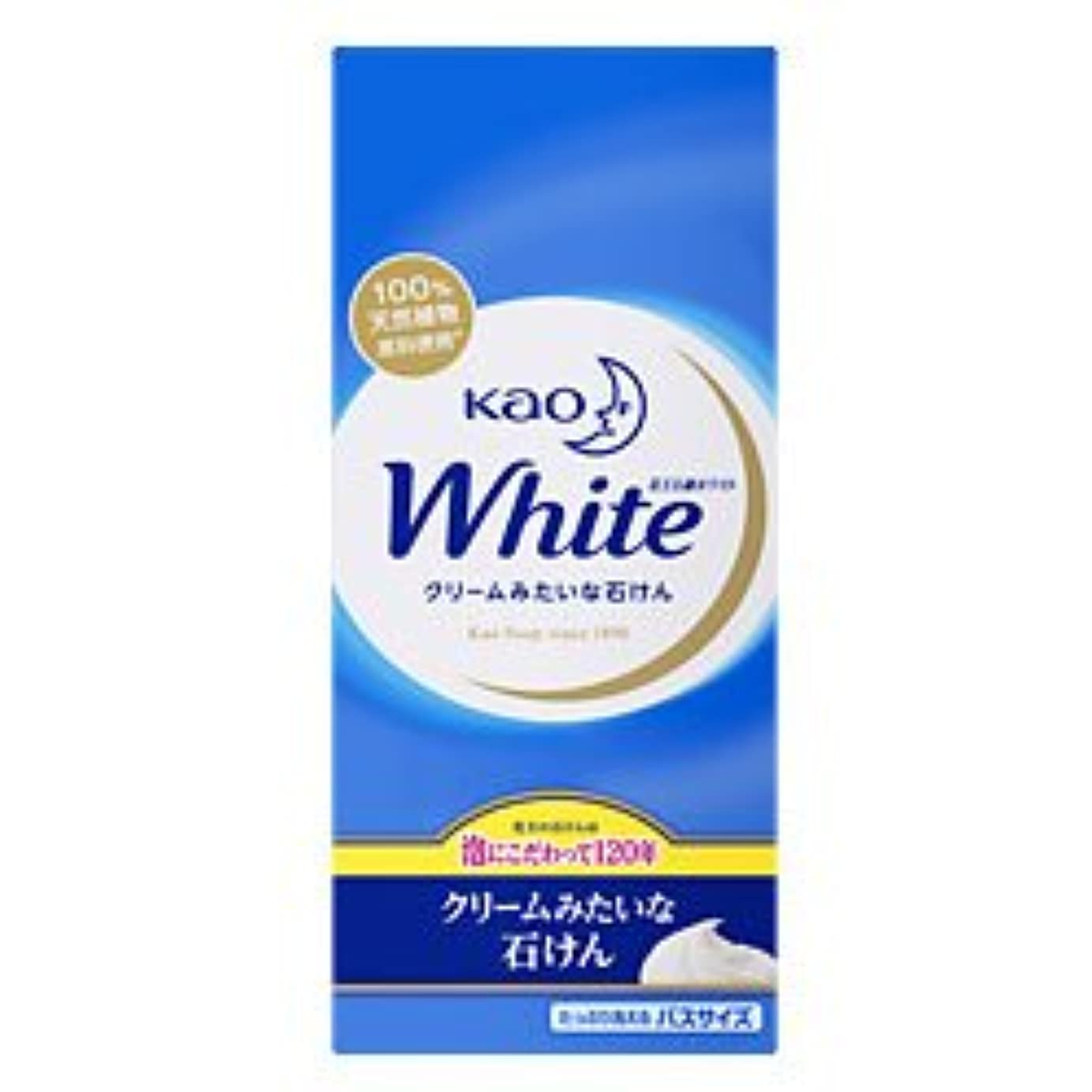 麦芽スカリーグラム【花王】花王ホワイト バスサイズ 130g×6個 ×20個セット