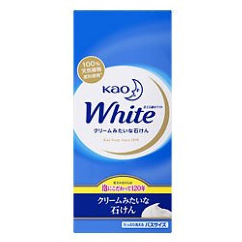楽観リングバック自分【花王】花王ホワイト バスサイズ 130g×6個 ×20個セット