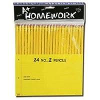 テープIt–Pencils–24パック–2号Lead ( 1パックof 48items )