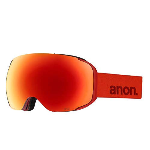 anon(アノン) M2 - ASIAN FIT WITH SPARE 18556101625 RED/SONAR RED NA